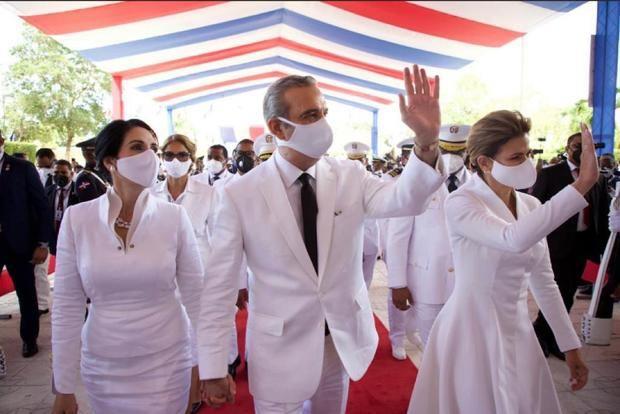 Luis Abinader asume la Presidencia de la República Dominicana