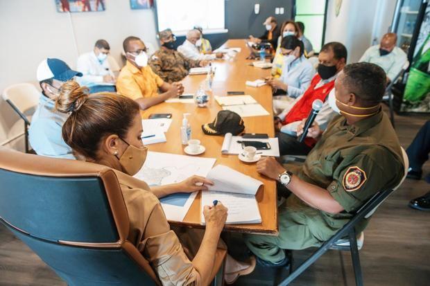 ADN activa Comité de Prevención, Mitigación ante Desastres del DN por tormenta Laura