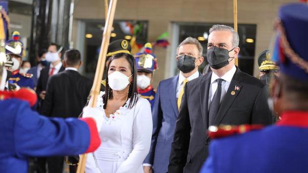 Presidente Abinader asiste a la juramentación del mandatario ecuatoriano Guillermo Lasso