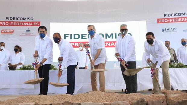 Presidente Abinader inicia obras viales y proyectos turísticos en Pedernales