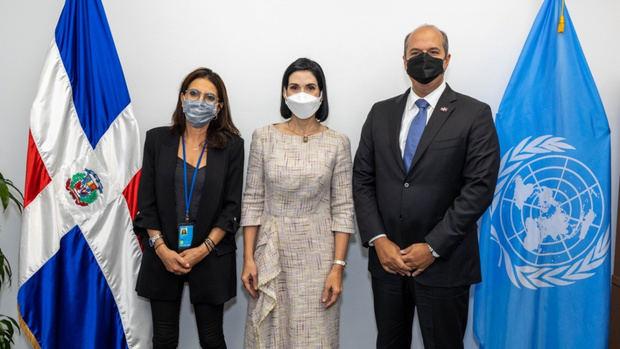 Primera dama une voluntades con la ONU en beneficio de la niñez y adolescencia dominicana.
