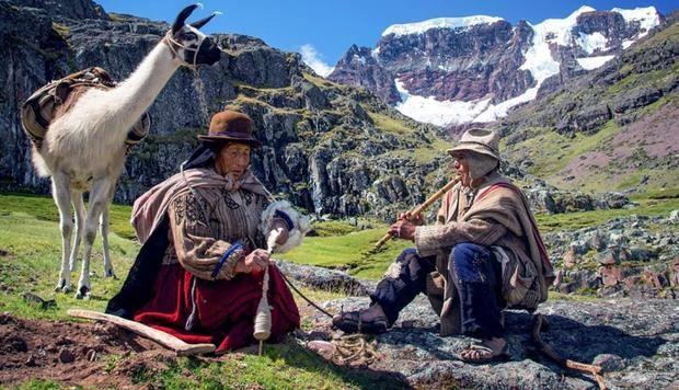 Escena de la película peruana  en lengua aymara 'Wiñaypacha'.
