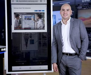 Wilfredo Cárdenas, Gerente Regional de Canales para Latinoamerica de Samsung Electronics.