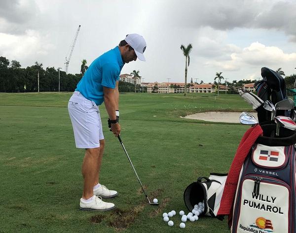 Willy Pumarol representará al país en golf en Juegos Centroamericanos y del Caribe