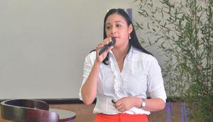 Yokaira Cid, directora regional del ministerio de Turismo Puerto Plata.