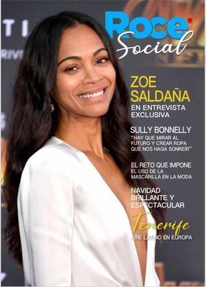 Zoe Saldaña es la portada de Roce Social