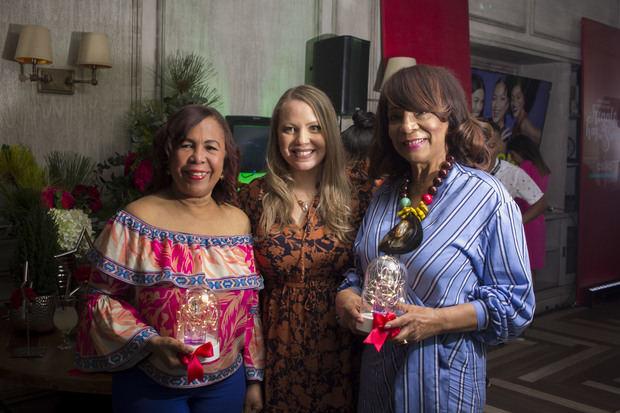 Zoila Puello, Rebel Ruiz y Fanny Santana.