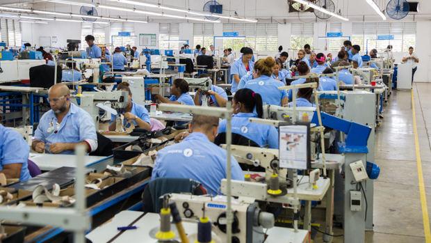 Exportación de las zonas francas en el país creció un 15.5 % en primer trimestre