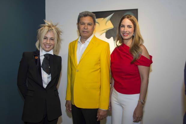 Lucy García, Yury Ruiz y Carolina Veras.