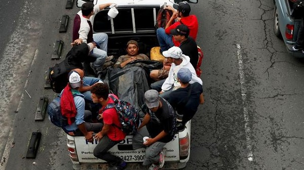 México pide apoyo ONU ante posibles peticiones de asilo de caravana migrantes