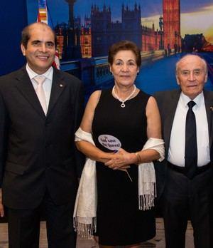 Dionisio De Gracia Guillén, Clemencia de Cadena y Enrique Cadena Suasnavas.