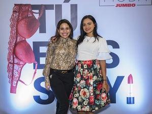 Jennifer Nivar y Lianna Martínez.