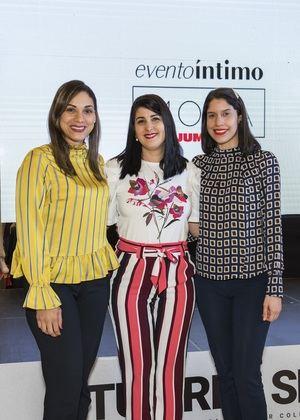 Massiel Carderón, Alejandra Acta y Michelle García.