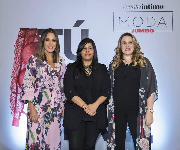 Luz García, Madelyn Martínez y Cristina Cuadra.