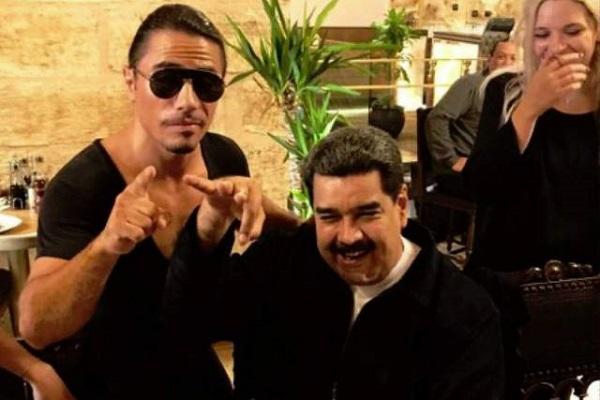 Maduro recibe críticas por comer en un famoso restaurante en Turquía