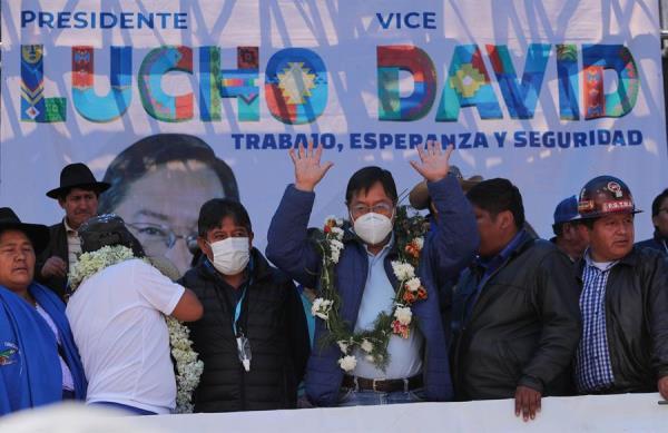 El Movimiento al Socialismo celebra su regreso al poder en Bolivia