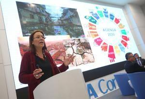 María del Cármen Sacasa, representante del PNUD en Lima.