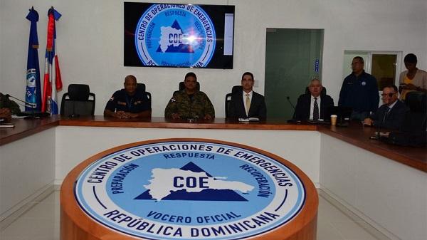 El Centro de Operaciones de Emergencias mantiene alerta para 10 provincias por remanentes de Kirk