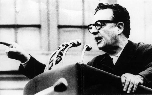 El expresidente de Chile, Salvador Allende.