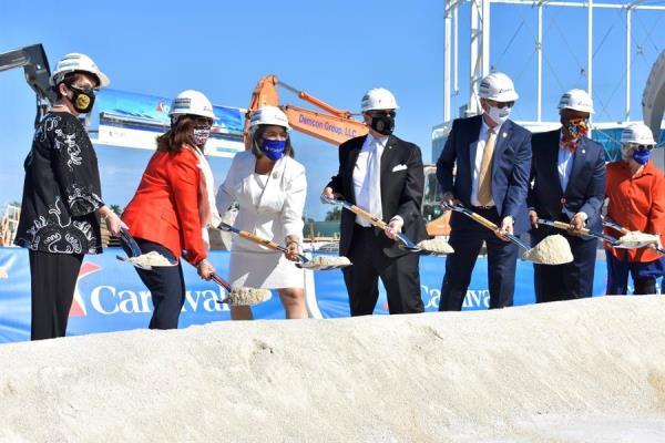 Carnival empieza la construcción de una lujosa terminal en el Puerto de Miami