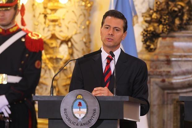 El expresidente de México, Enrique Peña Nieto.