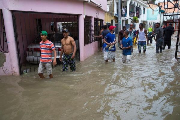 Sube a tres el número de muertos en República Dominicana por tormenta Laura