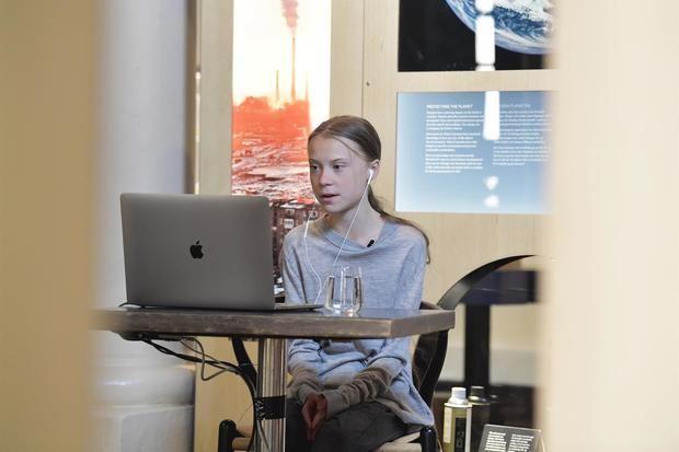 Greta Thunberg saca los colores a