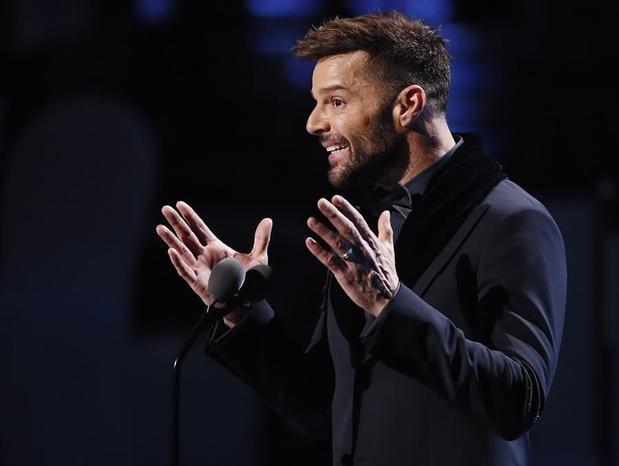Ricky Martin, cantante puertorriqueño.