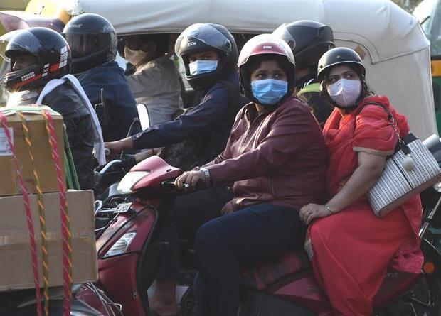 India acumula el 20 % de los casos de Covid -19 en el mundo, más de 9 millones