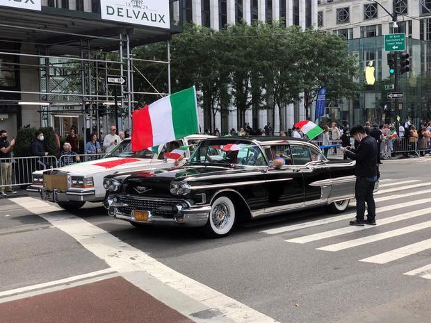 Nueva York vuelve a la calle para celebrar la cultura italiana en el Columbus Day