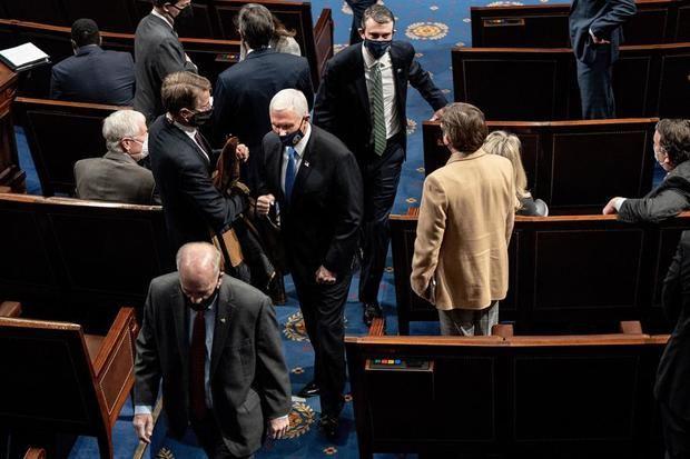 Pence dice a seguidores de Trump que asaltaron al Congreso: