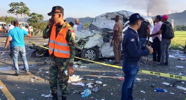 Estable dentro de la gravedad superviviente de accidente de tránsito en Bonao