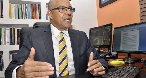 Presidente de la Alianza Dominicana Contra la Corrupción (Adocco), Julio César de la Rosa Tiburcio.