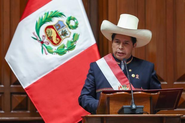 Imagen de archivo del presidente de Perú, Pedro Castillo.