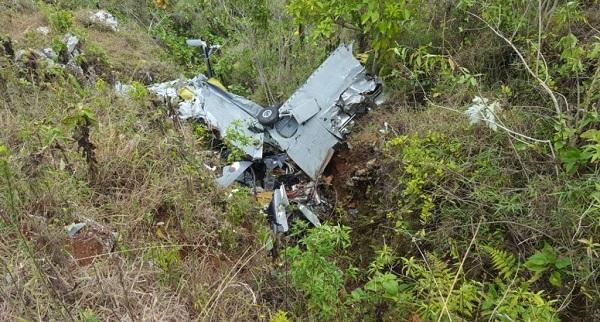 Condiciones del tiempo influyeron en accidente de avioneta militar dominicana