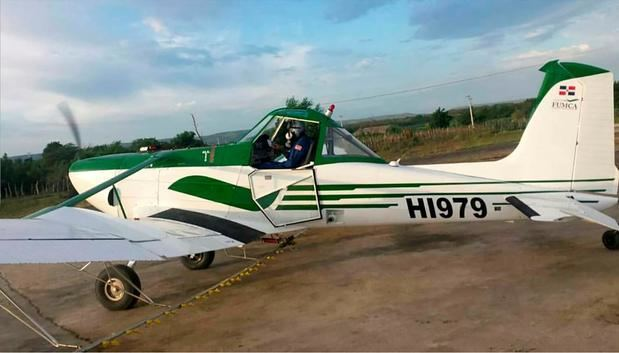 Accidente de aeronave utilizada en labores de fumigación agrícola.