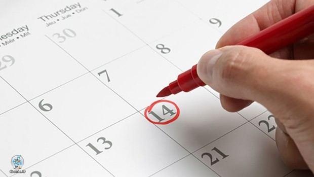 Agenda de actividades para esta semana