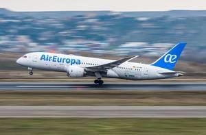 Air Europa incrementará vuelos a Santo Domingo y reinicia a Punta Cana en octubre.