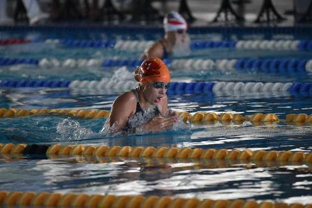 Extraordinaria progresión de la nadadora onubense, que el pasado julio se proclamó campeona de Europa.