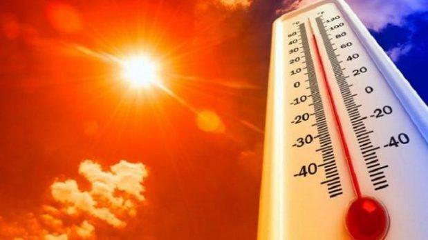 Temperaturas muy calurosas y escasas lluvias en gran parte del país