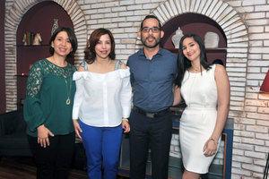 Gricel Jiménez, Marlenys Núñez, Jeffrey Medina y Marlyn Díaz