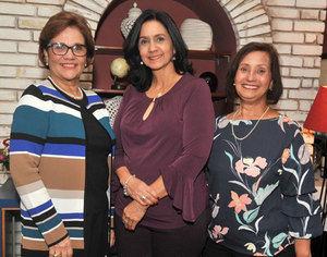 Isabel Sallent, Fazileh Fatule y Belkis Billini