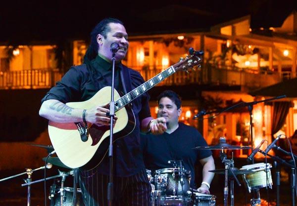 Amaury Gutiérrez en concierto