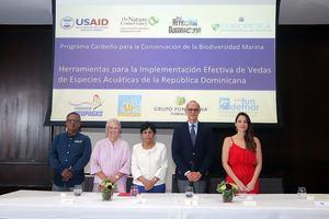 Francisco Núñez, Rosa Bonetti, Ydalia Acevedo, Miltón Ginebra, María José Bernat.