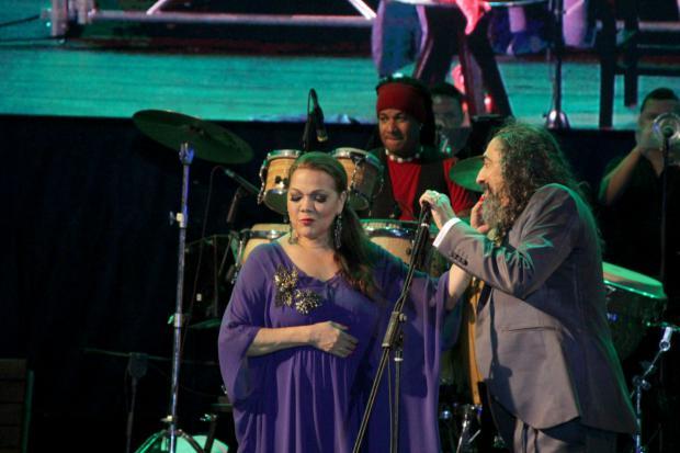 El Cigala y Ángela Carrasco en anfiteatro Puerto Plata, una descarga de sentimiento y pasión