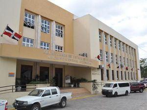 Fachada edificio del Archivo General de la Nación.