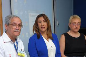 Representantes de Centro de Atención Integral a las Dependencias