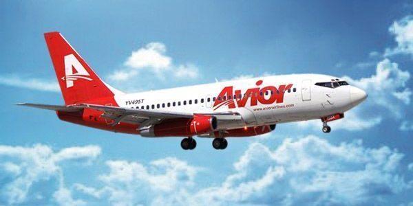 Avior Airlines inaugura vuelo directo Caracas - Santo Domingo