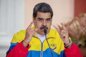En la imagen, el presidente de Venezuela, Nicolás Maduro.