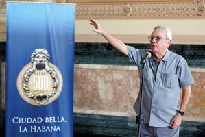 31/07/2020 14:49 (UTC) Autor: EFEI0374 Temática: Arte, cultura y espectáculos » Historia Arte, cultura y espectáculos » Monumentos y patrimonio nacional Interés humano » Actos sociales » Muerte Fotografía de archivo del 12 de noviembre de 2018, del historiador cubano Eusebio Leal durante un acto en La Habana (Cuba).